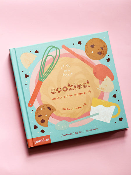 Cook In A Book: Cookies! Interactive Book for Kids