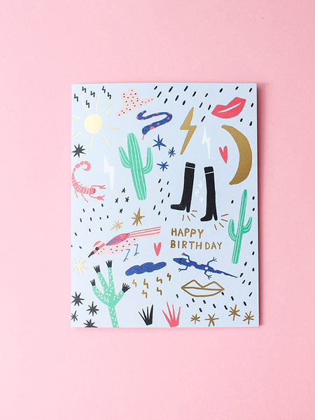 california birthday card