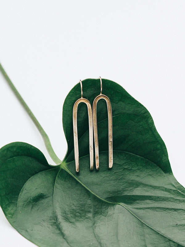 Jefa Earrings (Brass)