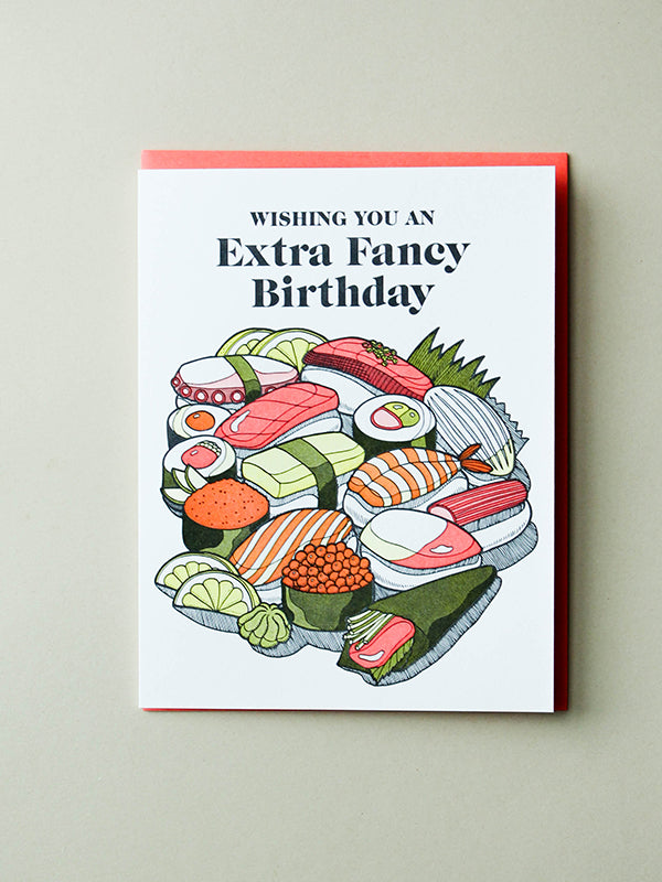 Extra Fancy Birthday Card Edge Of Urge