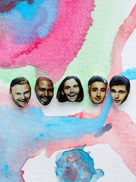 sleepy mountain fab 5 queer eye earrings