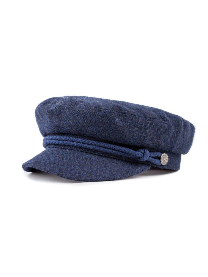 Fiddler Cap: Washed Navy/Navy
