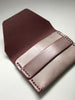 Ghost Flap Wallet: Burgundy