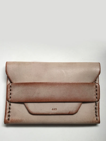 Ghost Flap Wallet: Chestnut