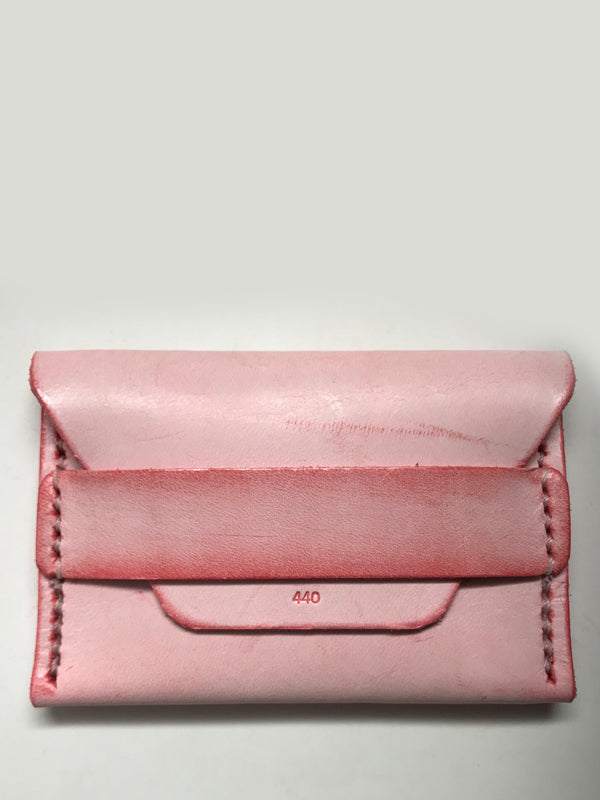 Ghost Flap Wallet: Pink