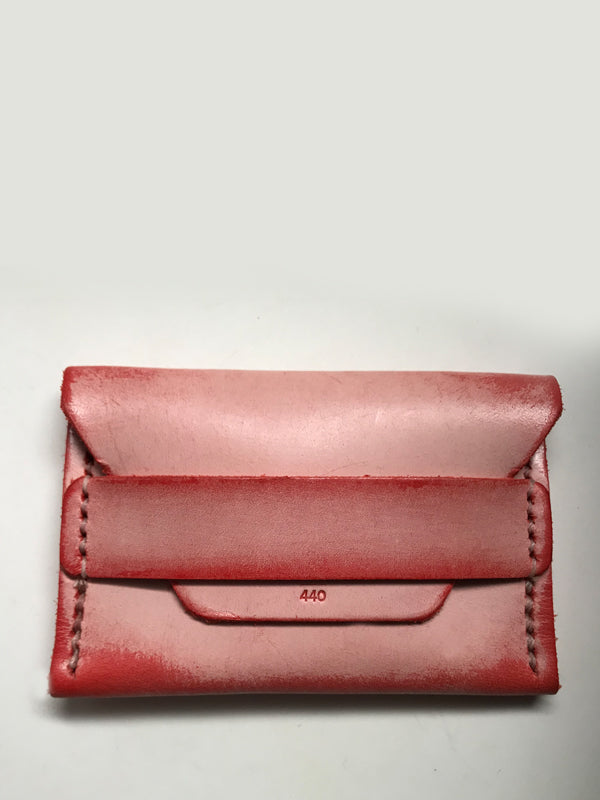 Ghost Flap Wallet: Red