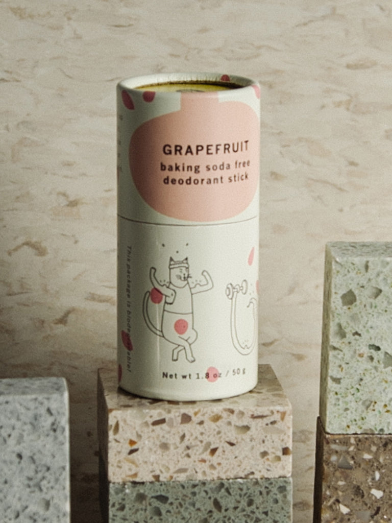 Baking Soda Free Deodorant: Grapefruit