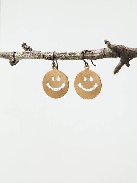 Smiley earrings