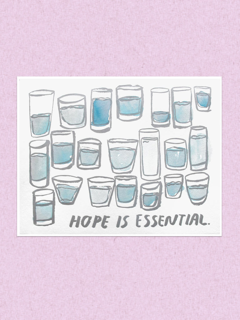 people i've loved hope is essential print