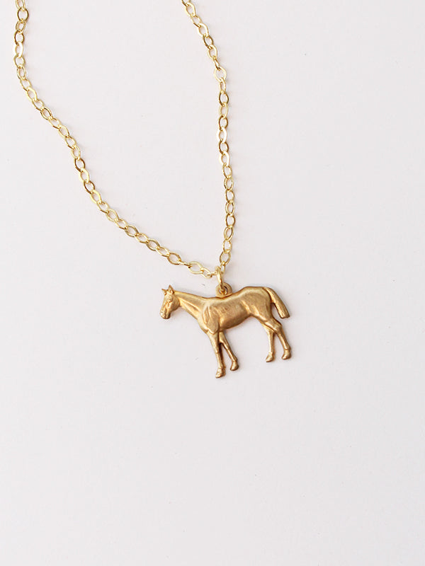 Lover Necklace: Horse