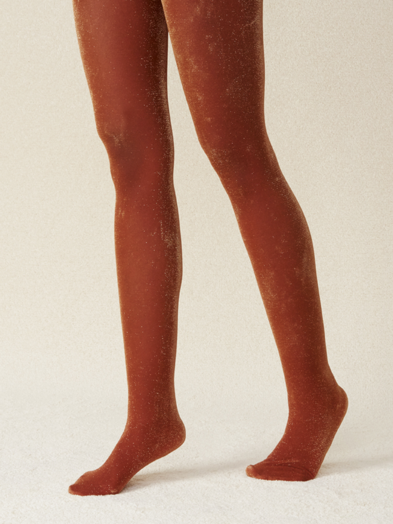 Cori Tights: Orange
