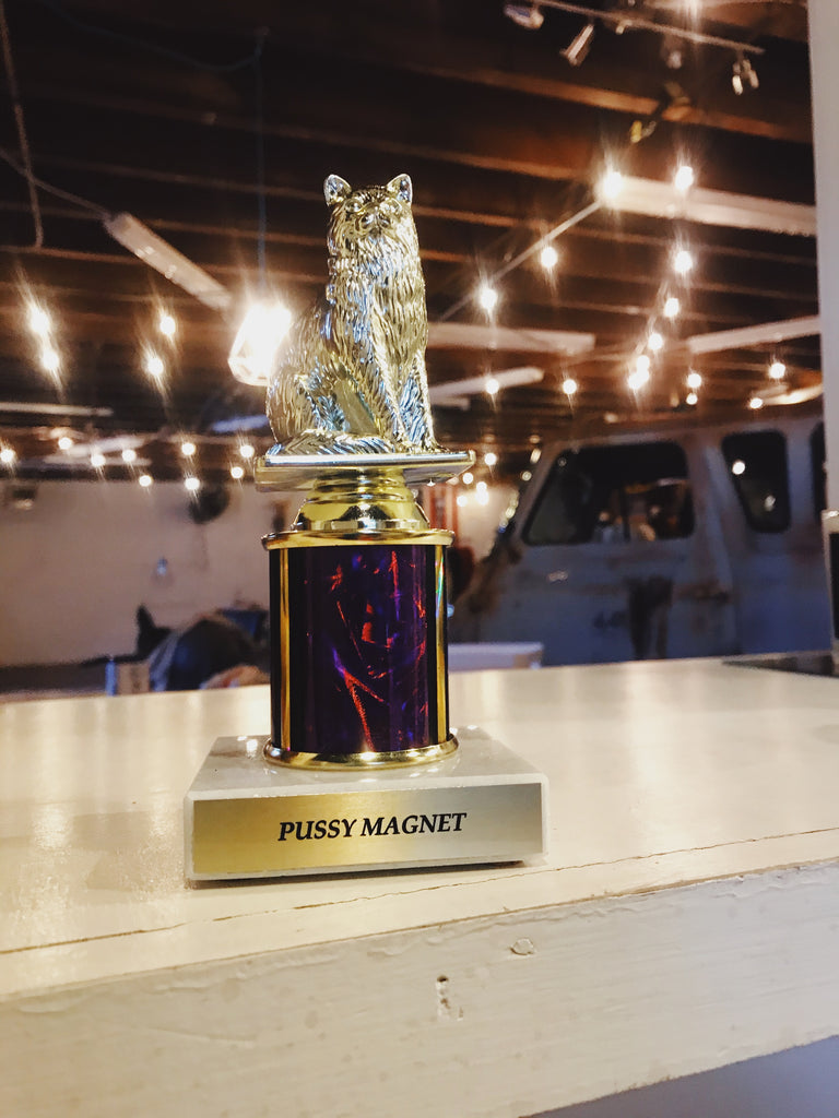 Trophy: Kitty Pussy Magnet