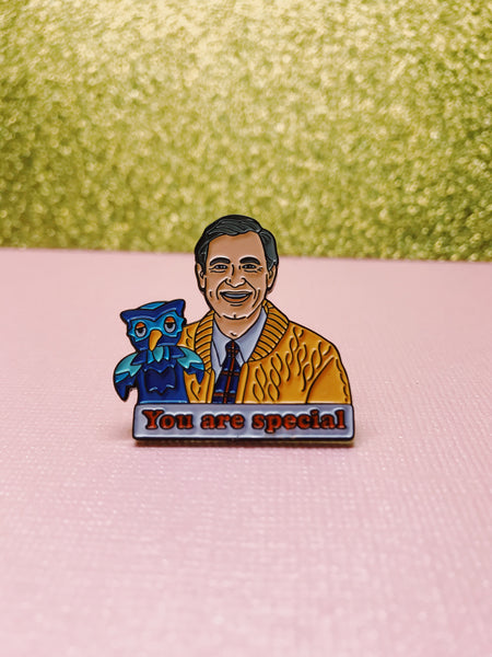 Mr. Rogers You Are Special Pin