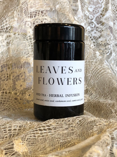 leaves and flowers digestive seed tea renew edge of urge herbal tea