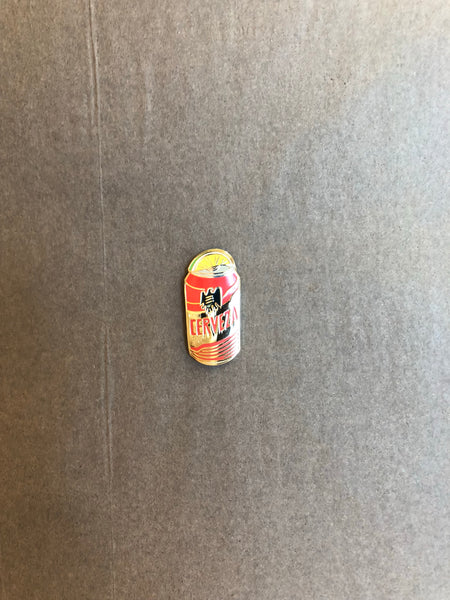 Tecate Lime Wedge Pin