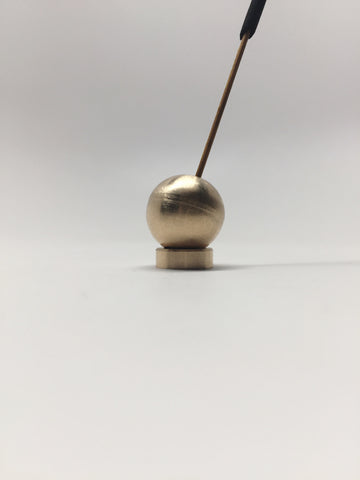 Japanese Brass Incense Holder