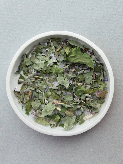 leaves and flowers ajna tea renew edge of urge herbal tea