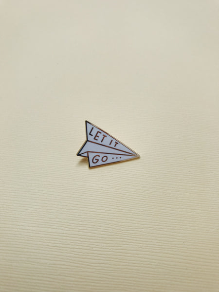 Let It Go Enamel Pin