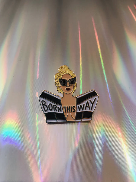 Gaga, Born This Way Pin