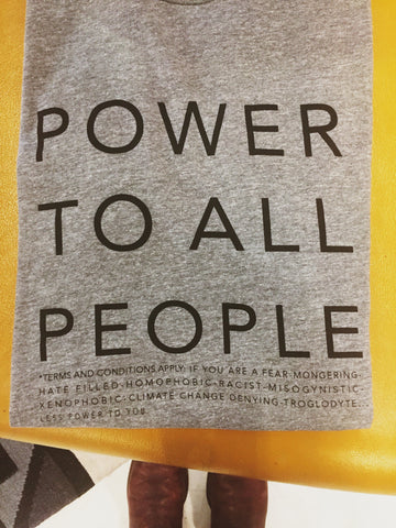POWER TO ALL PEOPLE Tee