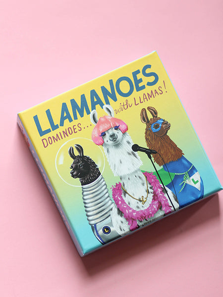 Llamanoes: Dominoes with Llamas!
