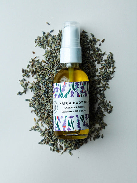 Lavender Fields Hair + Body Oil