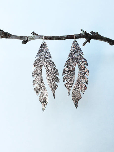 Leather Feather Minis: Mercury