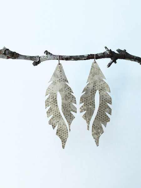 Leather Feather Minis: Glamour Lace