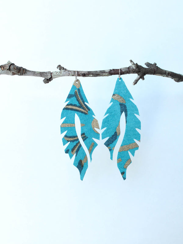 Leather Feather Minis: Blue Bell Knoll