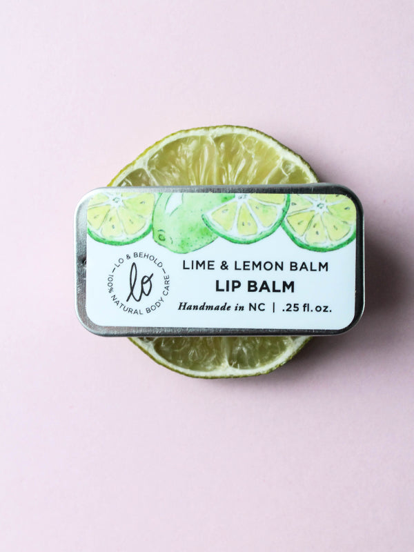 Lime & Lemon Lip Balm