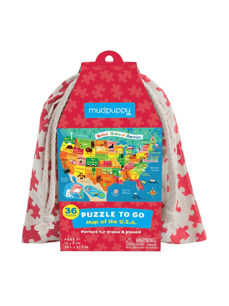 Puzzle to Go: Map of the USA