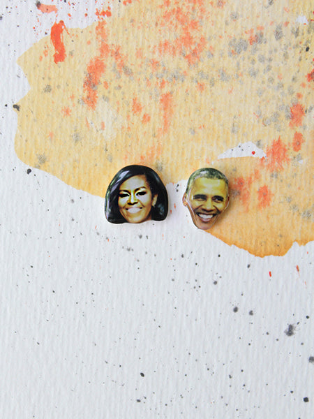 sleepy mountain barack obama michelle obama earrings