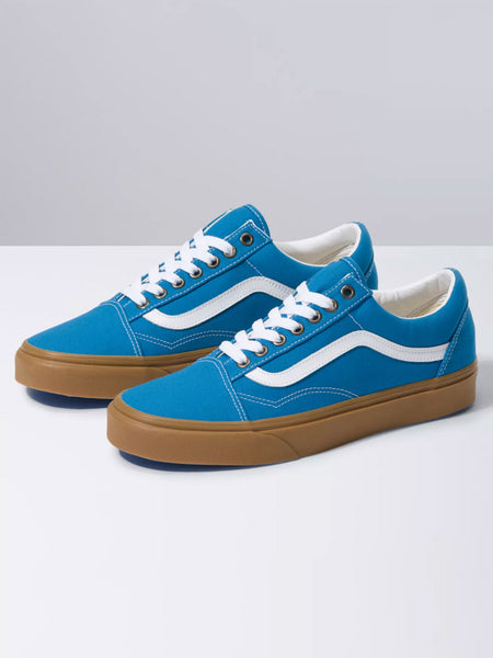 Old Skool: Mediterranean Blue/True White