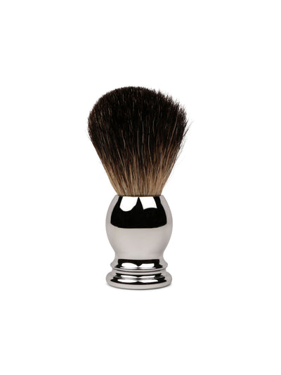 olivina men shave brush chrome handle