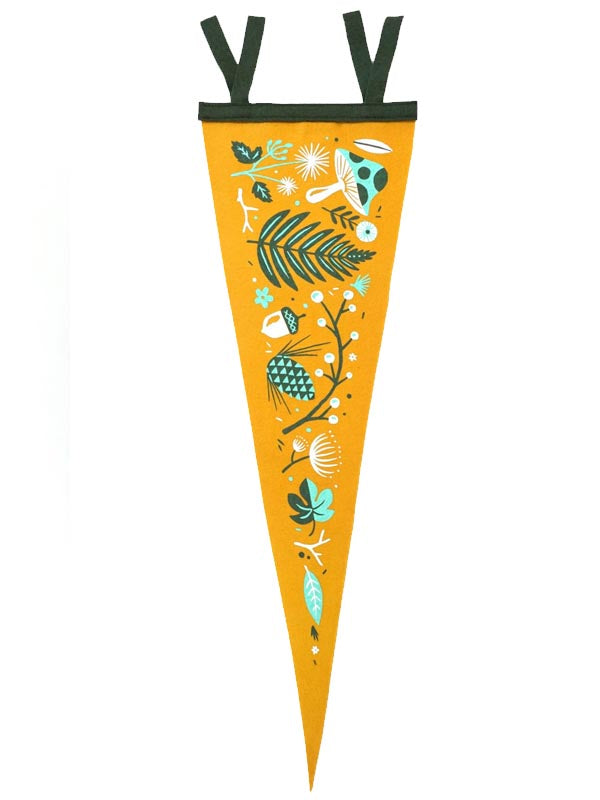 Brave the Woods Pennant