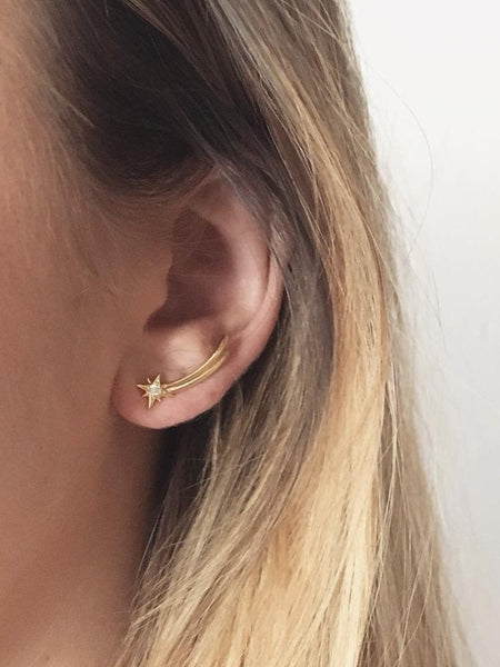 Aria Shooting Star Earrings