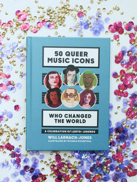 50 Queer Music Icons Book