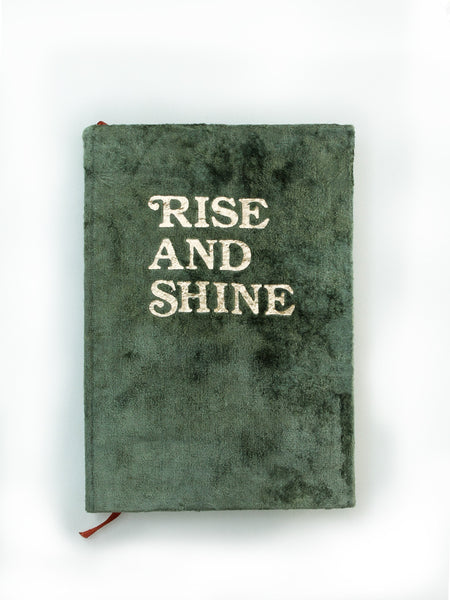 Rise & Shine Velvet Journal