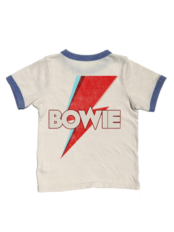 Bowie Distressed Ringer Tee