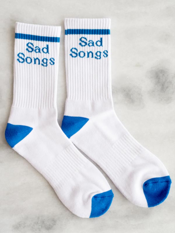 Sad Songs Socks