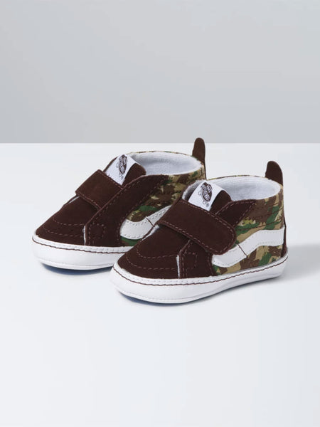 Sk8-Hi Crib: Animal Camo Brown/True White