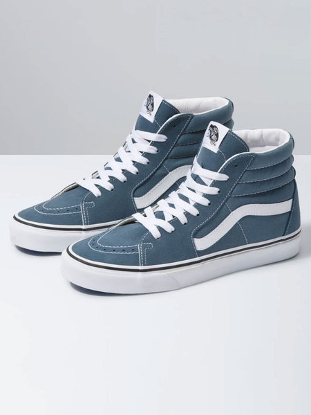 Sk8-Hi: Blue Mirage/True White