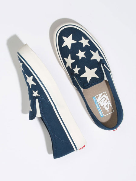 Slip-On SF: Stars (Gibraltar Sea/Marshmallow)