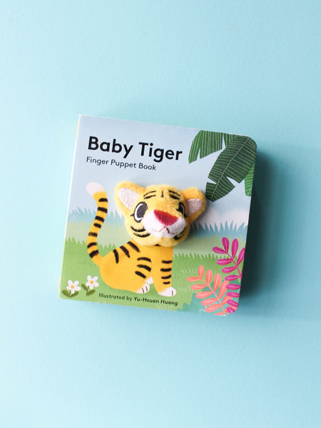 Baby Tiger Finger Puppet Book