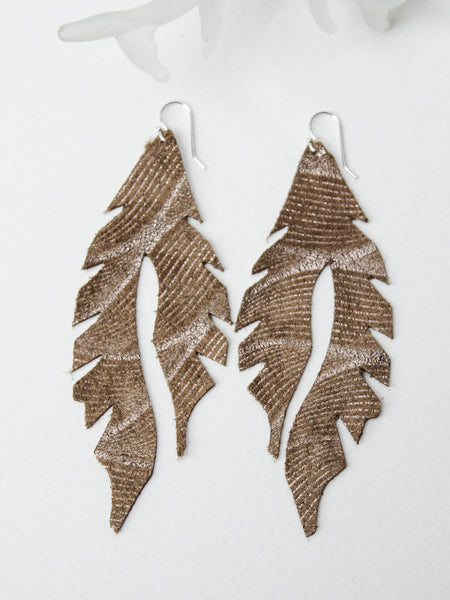 Leather Feather Minis: Tinsel