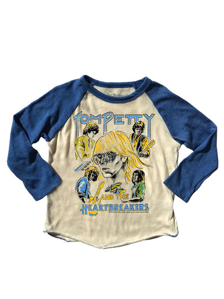 Tom Petty Raglan Tee: Royal