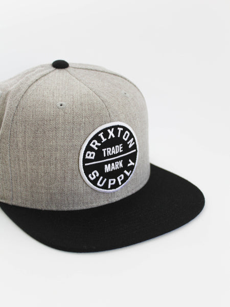 Oath Snapback Hat: Heather