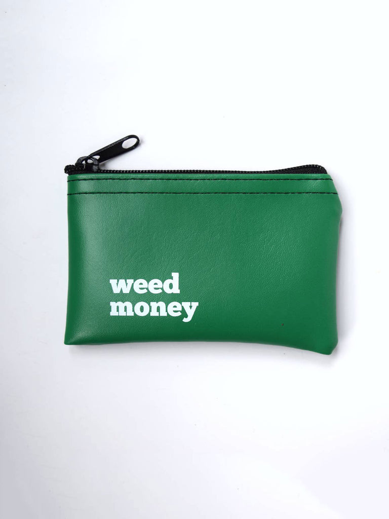 Weed Money Vinyl Zip Pouch