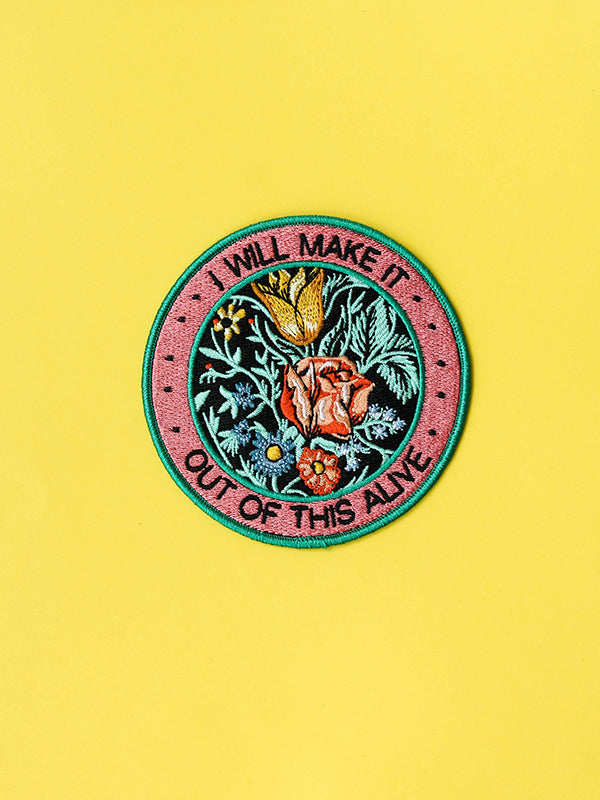 Make It Out Alive Iron-On Patch