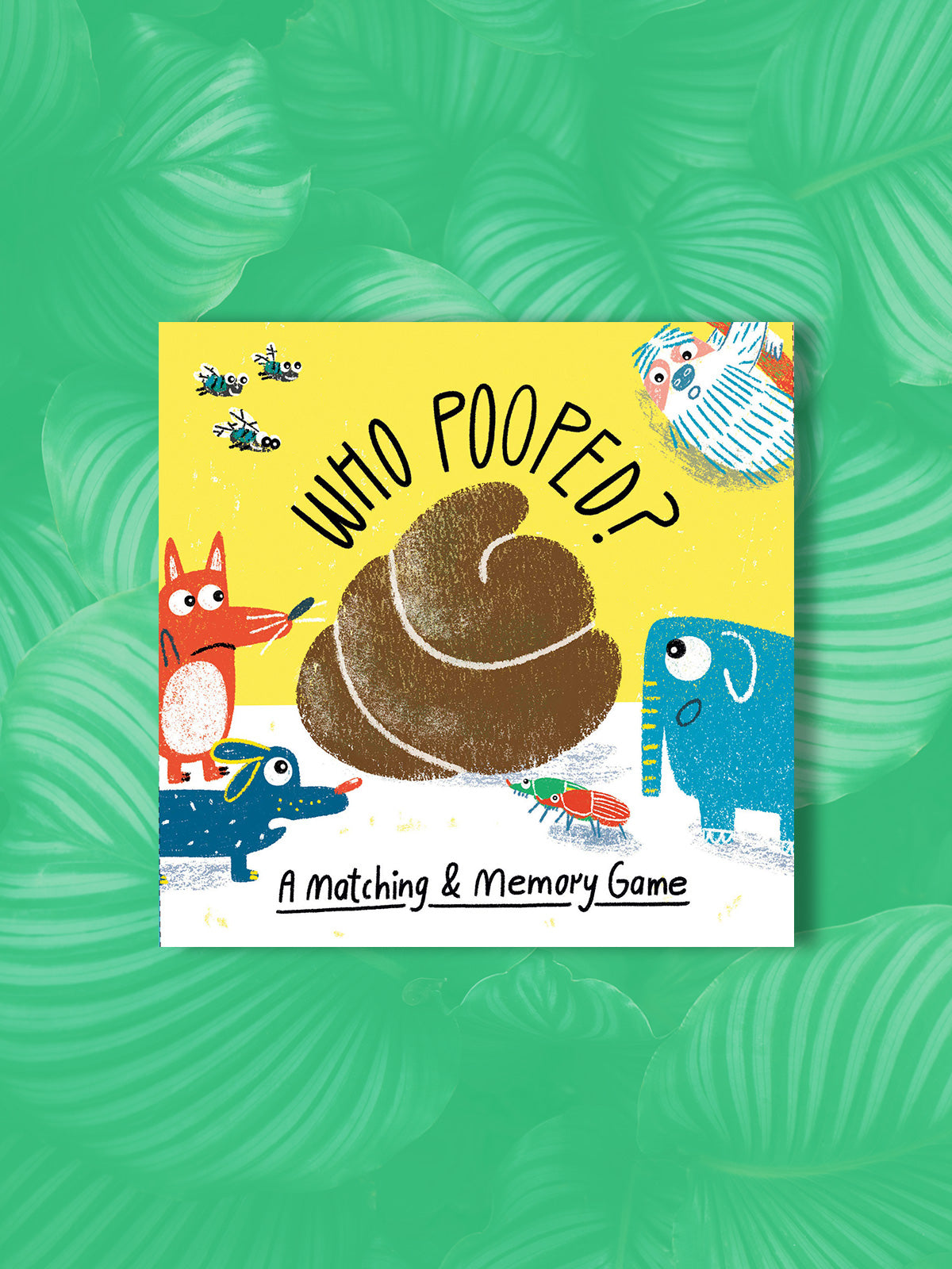 Who Pooped? A Matching + Memory Game